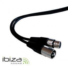 Vodič mikrofonní nebo DMX vodič 20m, XLR koncovka, XLR zásuvka