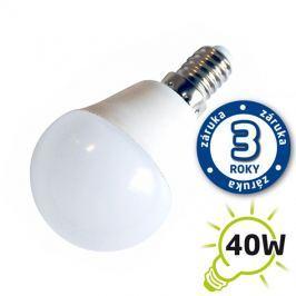 Žárovka LED G45 E14 5W bílá teplá (Pc) TIPA