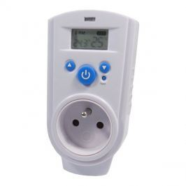 Zásuvkový termostat TH-928T digitální