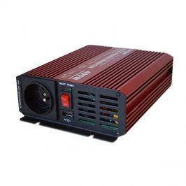 Měnič napětí 12V/230V  400W CZ čistá sinusovka + USB  CARSPA