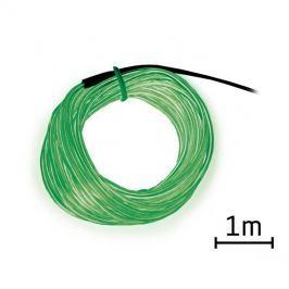 Kabel EL svítící 1m zelený