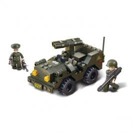 Stavebnice SLUBAN ARMY DŽÍP S DĚLEM M38-B5800