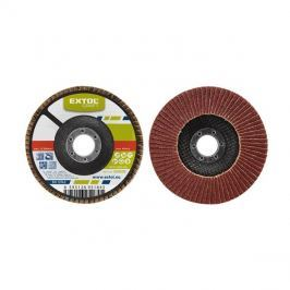 Kotouč lamelový šikmý korundový, P40, 125mm, KORUND, EXTOL CRAFT 260024