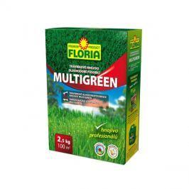 Hnojivo trávníkové FLORIA MULTIGREEN dlouhodobě působící 2.5 kg