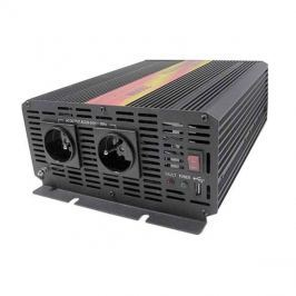 Měnič napětí 12V/230V 2000W CZ  CARSPA