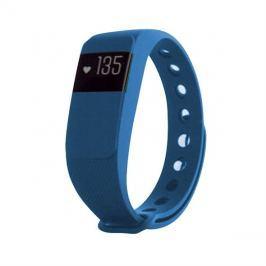 Fitness náramek s měřením tepu FT11, OLED, Bluetooth 4.0, Android+iOS modrá