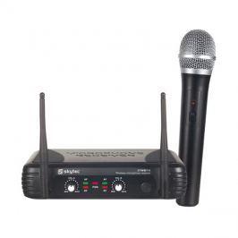 Mikrofon Skytec mikrofonní set VHF, 1 kanálový, 1x ruční mikrofon