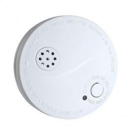 Detektor kouře + alarm, 85dB, bílý + 9V baterie