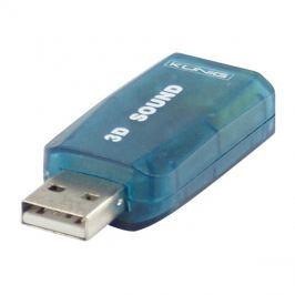 Adaptér zvukový USB 5.1 KÖNIG CMP-SOUNDUSB12