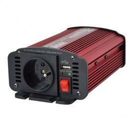 Měnič napětí 12V/230V  300W CZ + USB  CARSPA