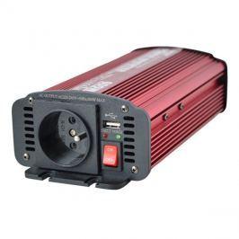 Měnič napětí 12V/230V  600W CZ + USB  CARSPA