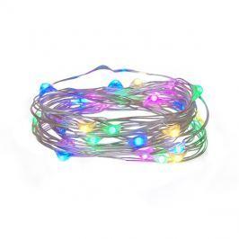Řetěz vánoční 30 LED, 3m, 3xAA, RGB
