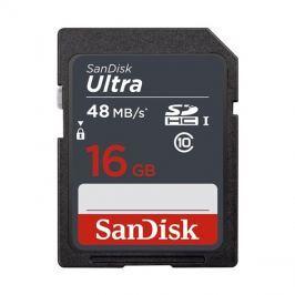 Karta paměťová SANDISK SDHC 16GB Class 10