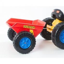 Vlečka ke šlapacímu traktoru G21 červená