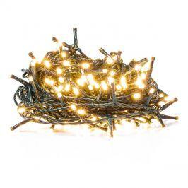 Řetěz vánoční  10m, teplá bílá, IP44, klasický, 8 funkcí, RETLUX RXL162