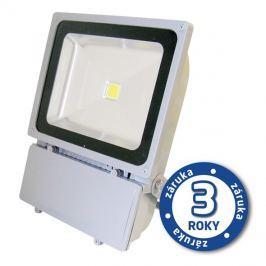 LED reflektor venkovní  100W/8000lm EPISTAR, MCOB, AC 230V, STUDENÁ, šedý - POUŽITÉ