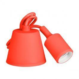 Svítidlo lampička závěsná - přívodní kabel LED Retlux RFC 006 kabel červený E27 230V