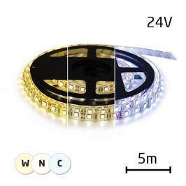 LED pásek 24V 3527  60LED/m IP66 max. 4,8W/m variabilní (W+N+C), (1ks=cívka 5m)