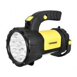 Svítilna montážní TIROSS TS-1871, 15 LED, 1000 mAh, nabíjecí žlutá
