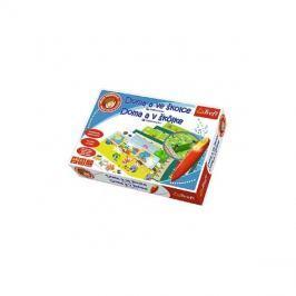 Hra vzdělávací TREFL MALÝ OBJEVITEL DOMA A VE ŠKOLCE dětská