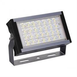 LED venkovní reflektor WM-50W-P Pro+, 50W, 6000lm, AC 230V, černá