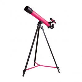 Dalekohled hvězdářský BRESSER JUNIOR SPACE EXPLORER 45/600 růžová