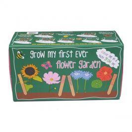 Zahrádka domácí CANOVA GROW MY FIRST BOX KVĚTINY