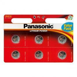 Baterie    CR2016 PANASONIC lithiová 6BP
