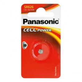 Baterie     377  PANASONIC do hodinek 1bp stříbrooxidová