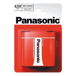 Baterie 3R12 (4,5V) Red  zinkouhlíková, PANASONIC