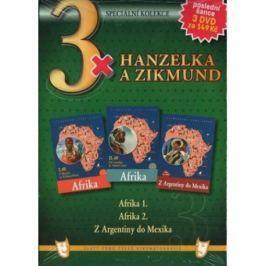 Zikmund a Hanzelka v Africe a Latinské Americe (3 DVD)