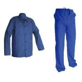 Montérky laclové modré 44
