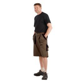 MAX šortky hnědé 54