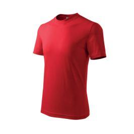 Tričko dětské BASIC 110/4 roky červená