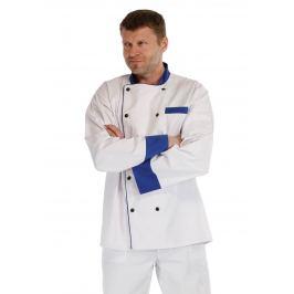 Kuchařský kabát RONDON modrý 48