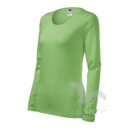 Tričko dámské SLIM L trávově zelená
