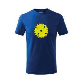 Dětské tričko Pila královská modrá 122