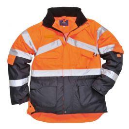Hi-Vis dvoubarevná prodyšná bunda S reflexní oranžová