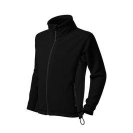 Dětská fleecová bunda FROSTY 146/10 let černá