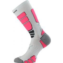 Lasting ILR 004 bílá Středně dlouhá inlinová ponožka Velikost: (42-45) L
