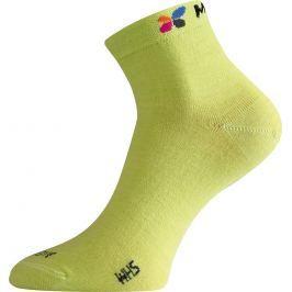 Lasting WHS 698 zelená merino ponožka Velikost: (38-41) M