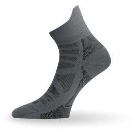Lasting TPC 816  tmavě šedá trekingová ponožka Velikost: (34-37) S
