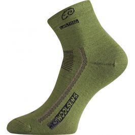 Lasting WKS 689 zelená vlněné ponožky Velikost: (34-37) S