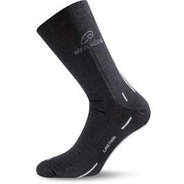 Lasting WLS 901 černá vlněná ponožka Velikost: (34-37) S