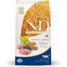 N&D Low Grain CAT Adult Lamb & Blueberry 10kg + Doprava zdarma