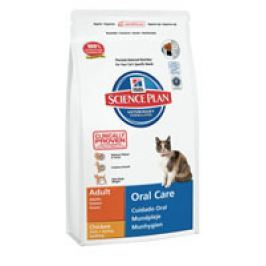 Hill's Feline  Dry Oral Care   5kg Plníme misky