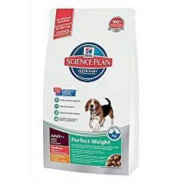 Hill's Canine  Dry Adult Perfect Weight Medium 10kg Plníme misky