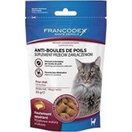 Francodex Pochoutka Hairball kočka 60g
