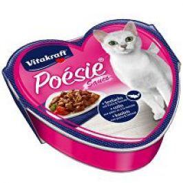 Vitakraft Cat Poésie konz. šťáva treska,těst,rajče 85g