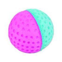 Hračka kočka Golf míček mech guma 60ks tubus